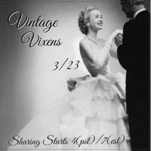 TUESDAY 3/23 Vintage Vixens Sign Up Sheet